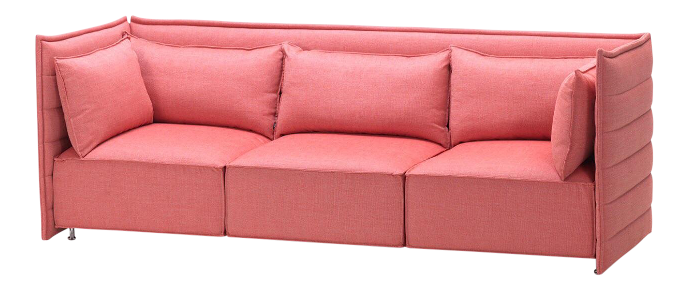 vintage used pink sofas chairish rh chairish com pink velvet sofas for sale pink leather sofas for sale