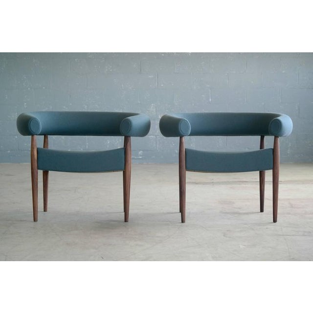 New production of Nanna and Jorgen Ditzel's ring chairs manufactured by GETAMA. GETAMA had a long relationship with Nanna...