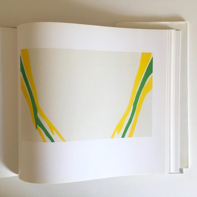 """Vintage 1st Edtn """"Morris Louis Moma"""" Collector's Abstract Expressionist Art Book, 1986 For Sale - Image 11 of 13"""