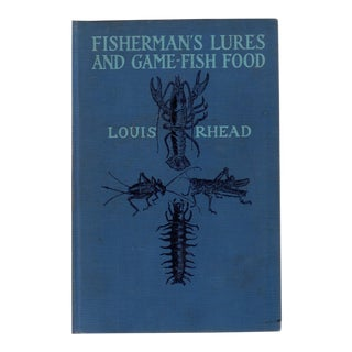Fisherman's Lures and Game-Fish Food For Sale