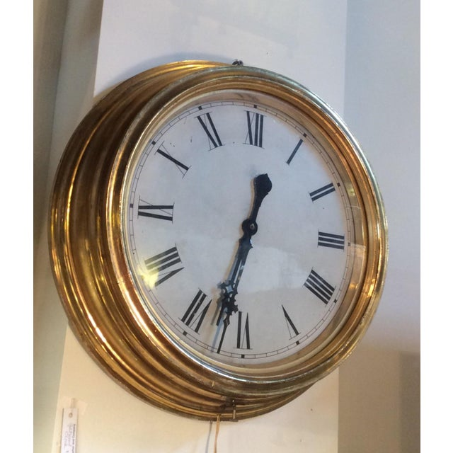Antique Giltwood Clock - Image 2 of 6