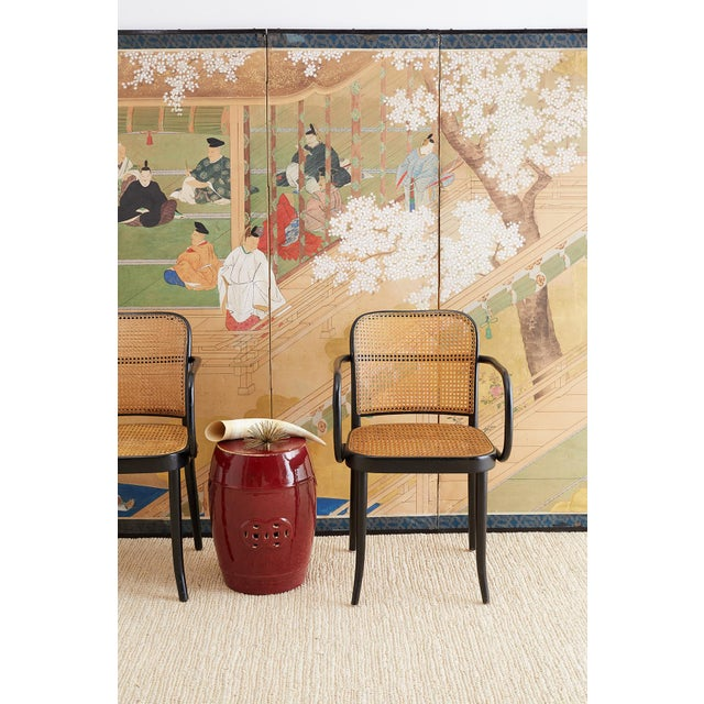 Asian Chinese Oxblood Sang De Boeuf Style Garden Stools For Sale - Image 3 of 13