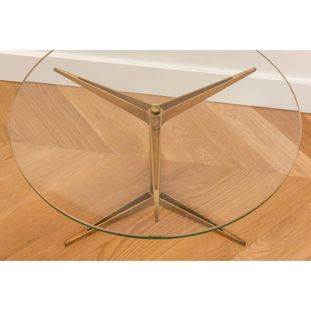 Ico Parisi Brass Occasional Table - Image 3 of 6