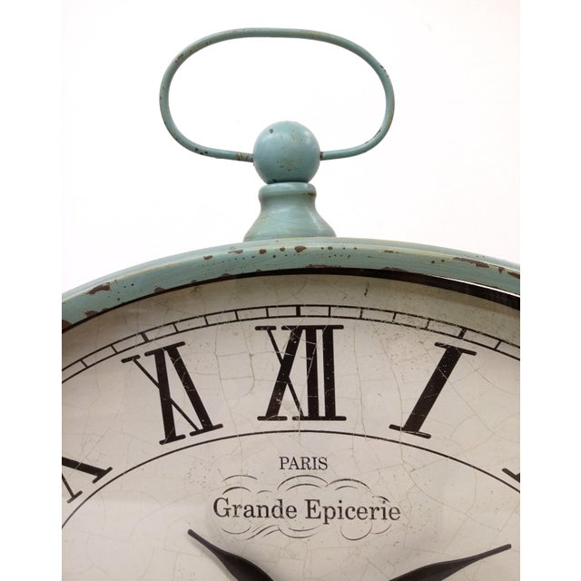 New Large Vintage-Style Mantel Clock For Sale - Image 5 of 9