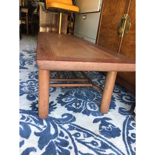 Brown Heritage Henredon Mahogany Coffee Table For Sale - Image 8 of 12