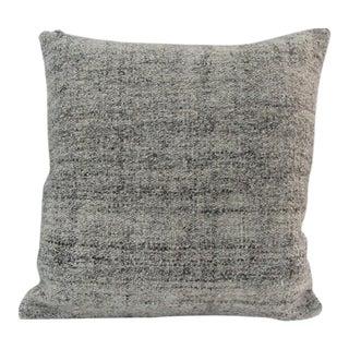 Handmade Vintage Natural Turkish Kilim Pillow Cover For Sale