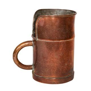 Antique Copper Pitcher For Sale