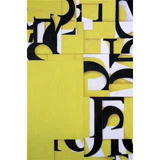 """Abstract """"PDP289ct05"""" Acrylic Diptych Painting by Cecil Touchon For Sale"""