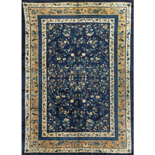"Vintage Chinese Rug - 10'3"" X 13'10"" - Image 2 of 4"