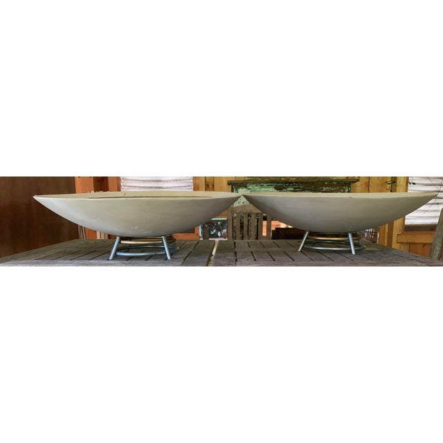 Art Deco Mid Century Modern Indoor Planters - a Pair For Sale - Image 3 of 7