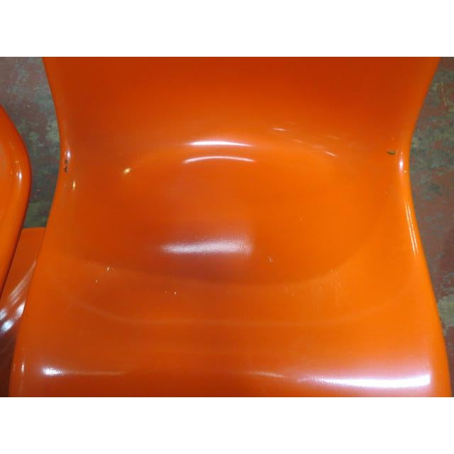 $1500 for pair. C 1968. Molded Baydur (PU hard foam) construction. Produced by Vitra for Herman Miller Furniture Co....