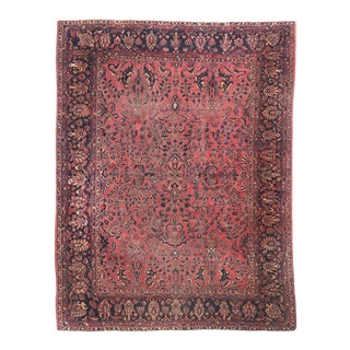 "Mid-20th Century Sarouk Rug - 106"" X 136"" For Sale"