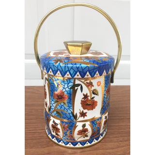 Blue & Orange English Lidded Tin Preview