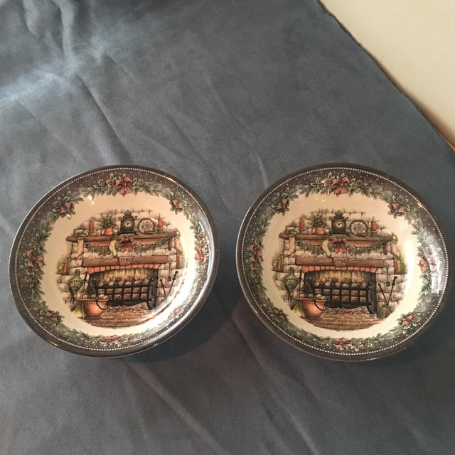 Vintage Holiday Royal Staffordshire Bowls - A Pair - Image 5 of 5