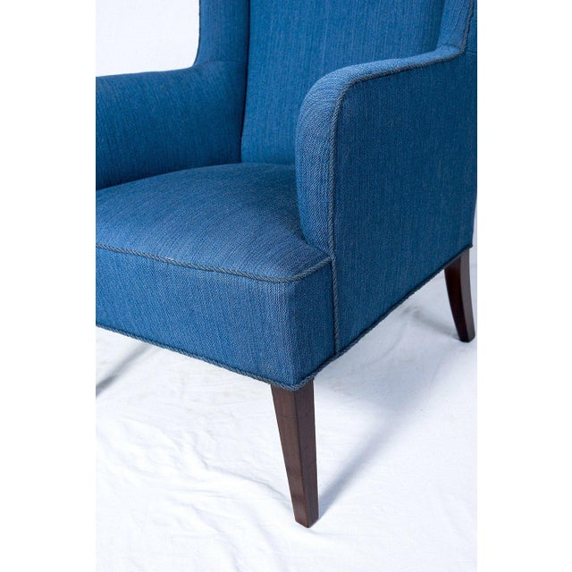 Wood Frits Henningsen Lounge Chair For Sale - Image 7 of 7