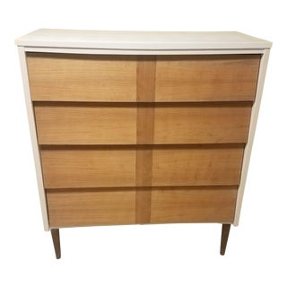 Refinished Mid-Century Modern Dresser For Sale