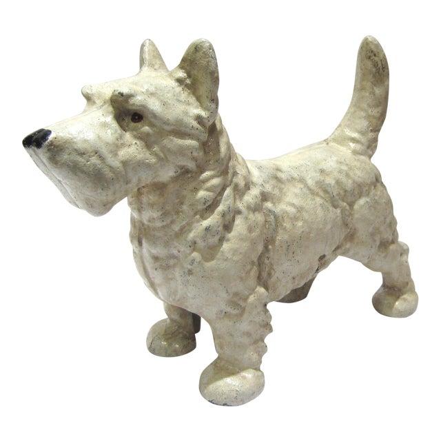 Cast Iron West Highland Terrier Doorstop For Sale