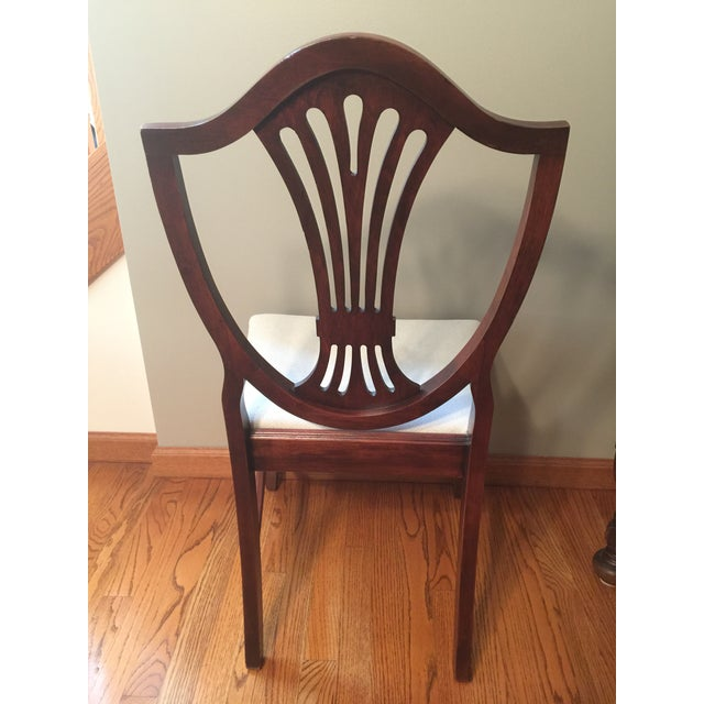 1900s Early 20th Century Hepplewhite Chair For Sale - Image 5 of 11