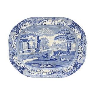 1820s Spode Italian Pearlware Platter For Sale