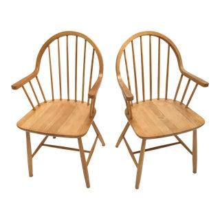Vintage Tarm Stole Danish Armchairs - a Pair