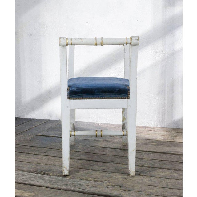 Small French Empire Style Bench For Sale - Image 9 of 11
