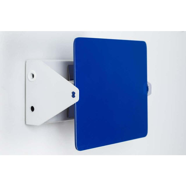 Blue Charlotte Perriand Blue 'Applique á Volet Pivotant' Wall Lights - a Pair For Sale - Image 8 of 12
