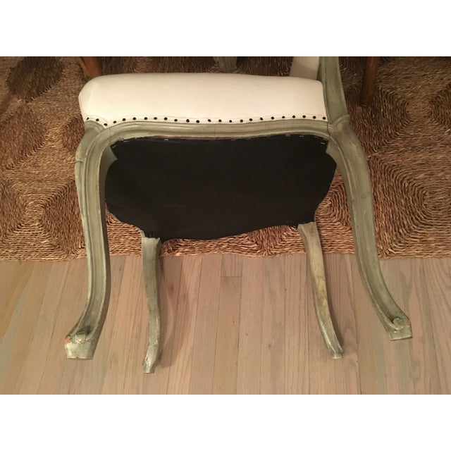 Antique Reupholstered Swedish Chairs - A Pair - Image 5 of 7