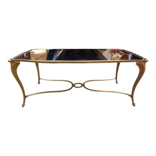 French Gilt Bronze Cocktail Table For Sale