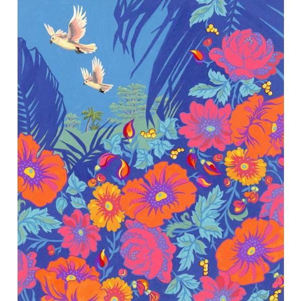 Tropical Bird 2 Original Painting For Sale