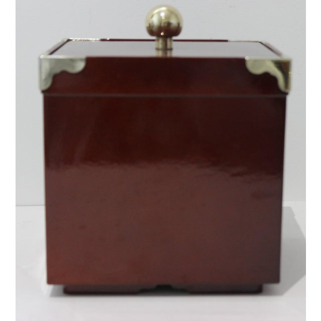 MId-Century Modern Georges Briard Collections Limited Designs Ice Bucket For Sale - Image 9 of 13