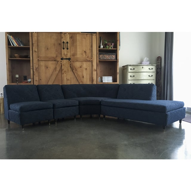 Mid Century Sectional Sofa - Image 2 of 11