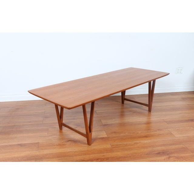 Kai Kristiansen Style Coffee Table - Image 3 of 9