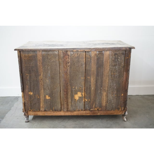 Antique French Painted Chest For Sale - Image 4 of 8