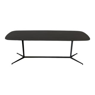 Mid 20th Century Rodolfo Dordoni Minotti 'Clyfford' Black Oak Console Table For Sale