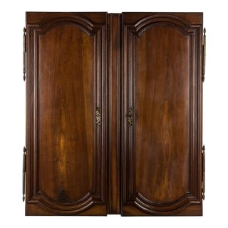 Early 19th Century French Louis XIV Style Walnut Doors- A Pair For Sale
