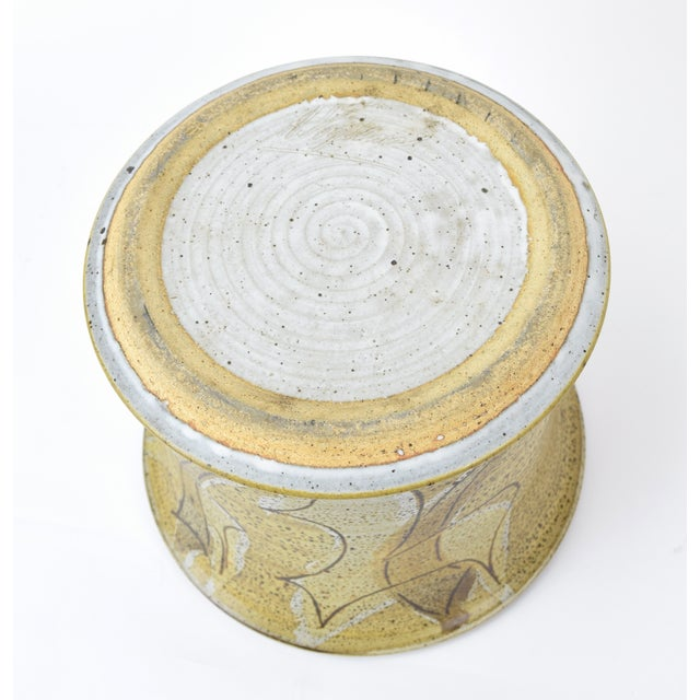 Vintage Alan Vigland Mid Century Modern Studio Pottery Vase For Sale - Image 9 of 11