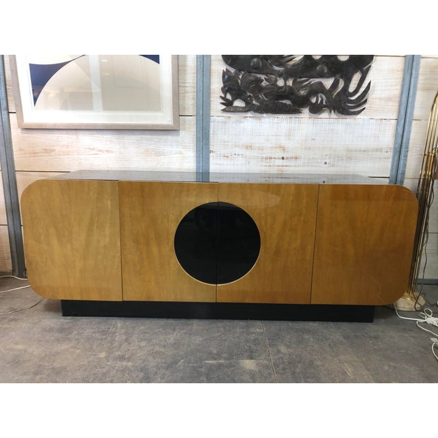 Brown Modern Wood Credenza by Casa Bique For Sale - Image 8 of 9