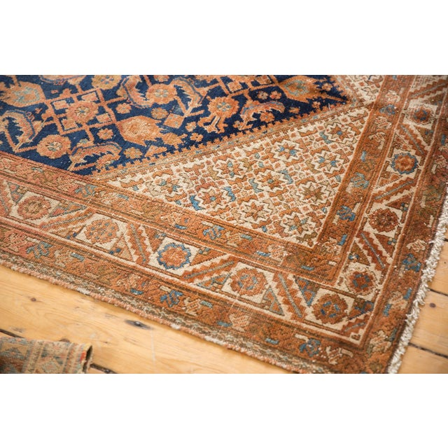 """Old New House Vintage Hamadan Rug Runner - 5'1"""" X 13'1"""" For Sale - Image 4 of 13"""