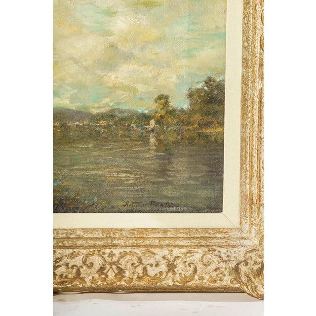 19th Century Oil on Canvas, Listed Artist Landscape