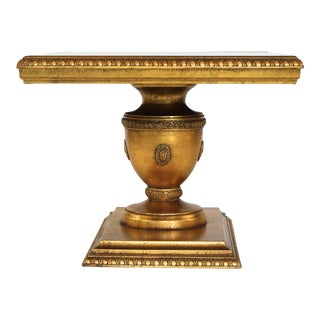 Gilded Accent Table For Sale