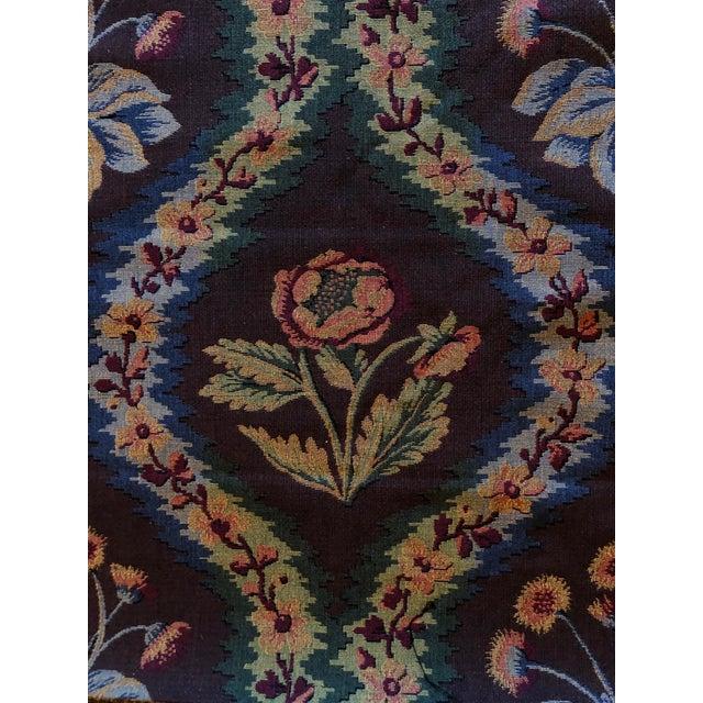 """Brunschwig & Fils Fabric 8' X 54"""" High quality upholstery fabric by Brunschwig & Fils. Beautiful deep, rich brown..."""