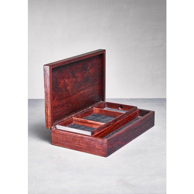 Alfred Klitgaard Alfred Klitgaard & Bodil Eje Decorative Box, Denmark, 1960s For Sale - Image 4 of 5