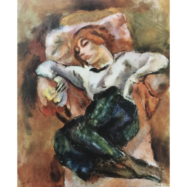 Figurative 1954 Portfolio of 25 Color Stone Lithograph Prints by Jules Pascin For Sale - Image 3 of 13
