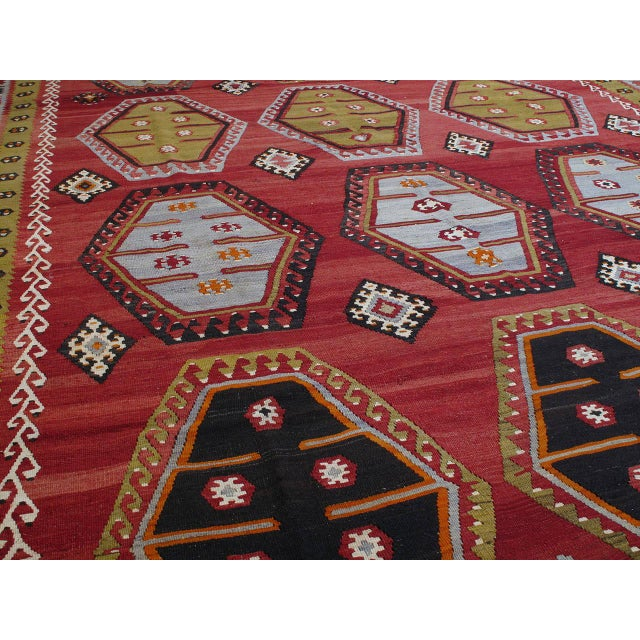 Islamic Sharkisla Kilim For Sale - Image 3 of 8