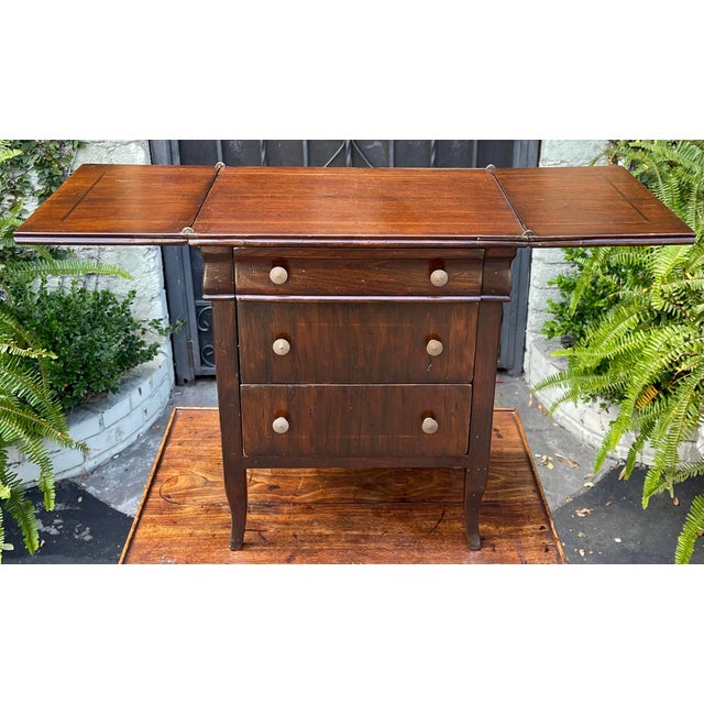 Antique Salesman's Sample Diminutive Chest of Drawers For Sale In Los Angeles - Image 6 of 6