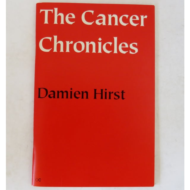Damien Hirst the Cancer Chronicles Book For Sale In Los Angeles - Image 6 of 6