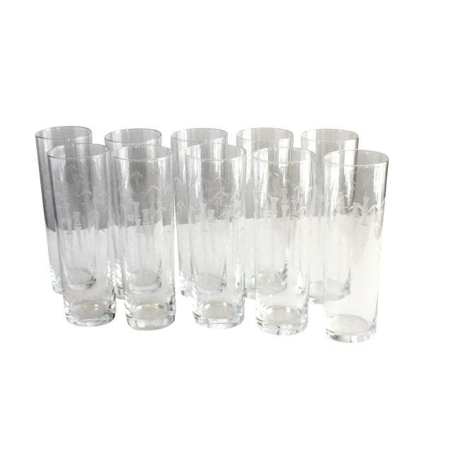 Noritake Bamboo Iced Tea Glasses - Set of 10 - Image 1 of 5
