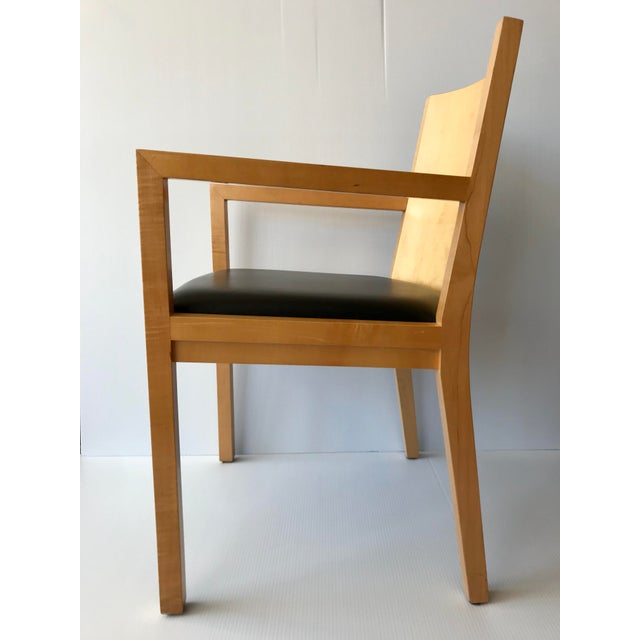 Contemporary 1980s Vintage Ward Bennett Side Chair For Sale - Image 3 of 9