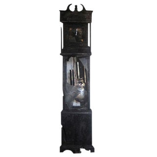 Burnt Grandfather Tower Clock