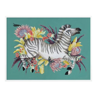 Mane Event by Allison Cosmos in White Frame, XL Art Print For Sale